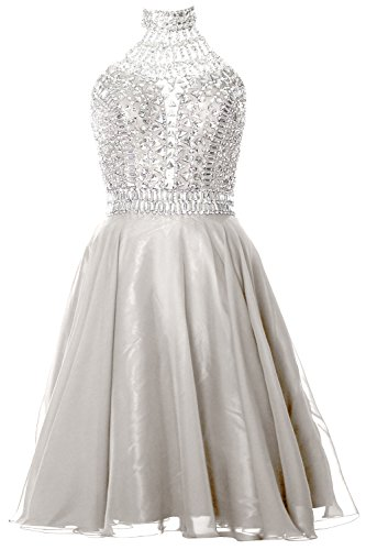 Gown Ivory Dress Prom Neck Halter Gorgeous High Formal Cocktail Homecoming Macloth Ogqz7c