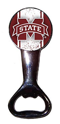 MISSISSIPPI STATE BULLDOGS BOTTLE OPENER-MISSISSIPPI STATE UNIVERSITY MAGNETIC BOTTLE OPENER