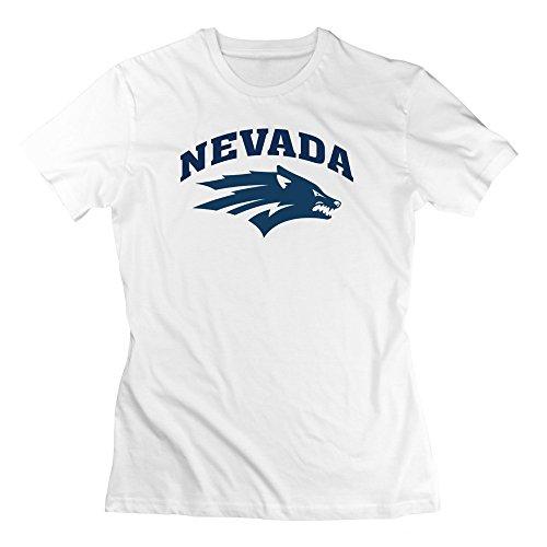 Blackhawk Phoenix Pack (Moniz Lady's College Simple Mascot Nevada Wolf Pack T-shirts White XL)