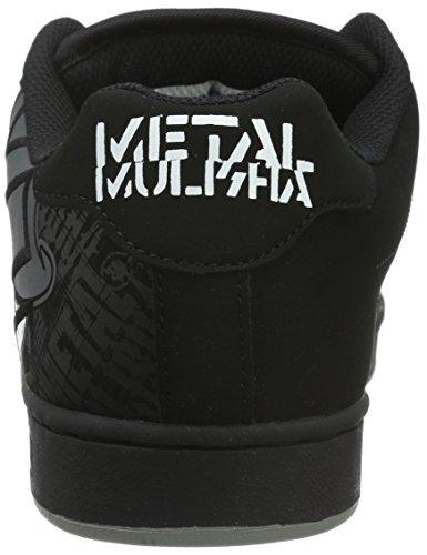 Etnies Metal Mulisha Fader - Zapatillas de Skateboard hombre Negro (Black/Skulls894)