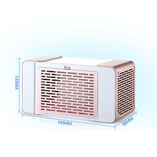 Farway Portable Mini LED Air Conditioner 5V 5W USB Equipment Air Cooler Fan Summer Cooling Machine by Farway (Image #2)