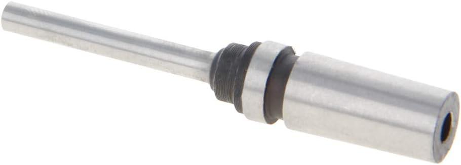 Utoolmart Hollow Paper Drill Bit 2.5mmx65mm for Taper Shank Punch Punching Machine 1Pcs