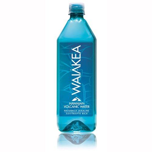 Case of Waiakea Hawaiian Volcanic Water - 12 Bottles x 1 Liter (12 - Hawaiian Water