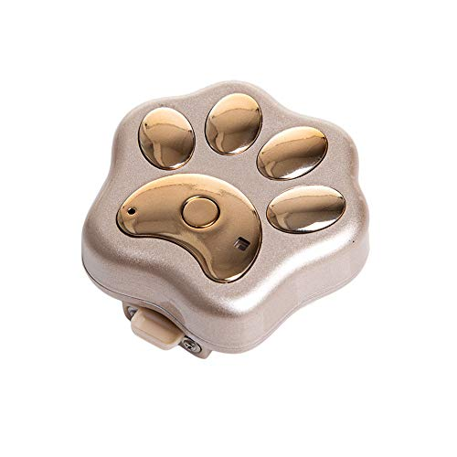 HDT GPS Tracker for Dog Cat Anti-Lost Device Mini Waterproof Pet People WiFi Locator Advanced Sealing Waterproof Dustproof (2) ()