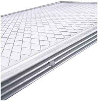 Never Buy a New Filter 20x40x1 Lifetime Air Filter Electrostatic A//C Furnace Air Filter Silver 82/% Arrestance