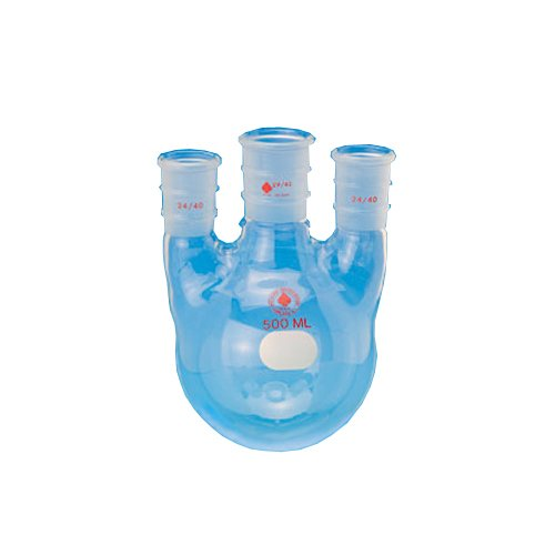 45//50 Center Joint 29//42 Side Joint ACE Glass Incorporated ACE Glass 6944-49 Three Neck Boiling Flask Round Bottom 2L Capacity