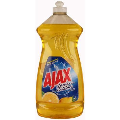 New 805707 Ajax Dish Liq 28Oz Lemon (9-Pack) Dish Liquid Cheap Wholesale Discount Bulk Cleaning Dish Liquid