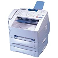 Brother PPF-5750e Mono Laser - Brother IntelliFax 5750E Mono Laser MFP (15 ppm) (8 MB) (33.6 Kbps) (8.5 x 14) (600 x 600 dpi) (Max Duty Cycle 15000 Pages) (p/s/c/f) (USB) (Parallel) (Network Ready) (500 Sheet Input Tray) (ADF)