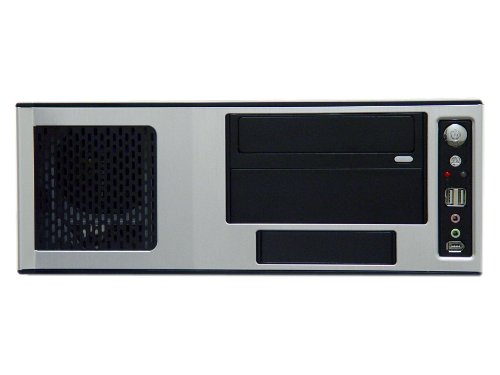 Apevia X-MASTER-AL/500 ATX Desktop/Media Center/HTPC Case, Fits Standard ATX/Micro ATX Motherboard, 500W ATX Power Supply, 2 x 80mm Fans, USB2.0/Firewire 1394/HD Audio Ports - Silver by Apevia (Image #3)