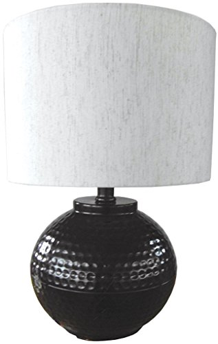 Hammered Metal Table Lamp - 6
