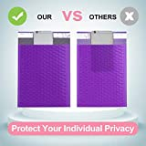 UCGOU Bubble Mailers 10.5x16 Inch Purple 25 Pack