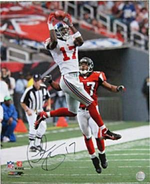 (Plaxico Burress Autographed Photograph - 16x20 - Autographed NFL Photos)
