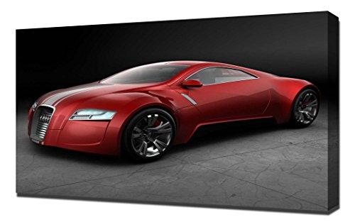 Audi Zero Red - Canvas Art Print