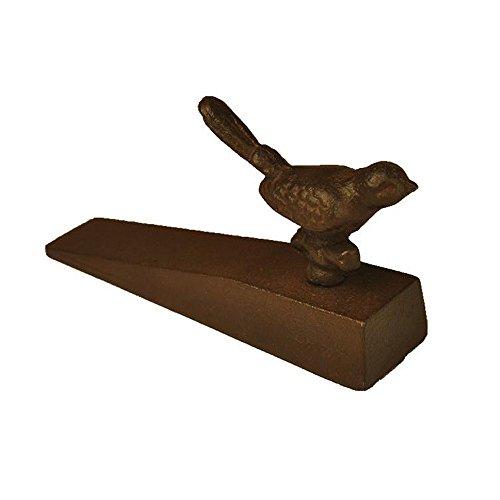 TC001 Bestplus Bird with Branch Cast Iron Doorstop Door Wedge Stopper, Home Decorative Gift by Best Plus