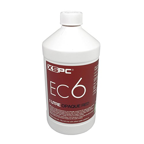 XSPC EC6 1000 ml Premix Opaque Water Cooling Coolant - Red