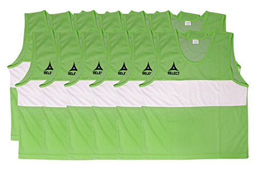 Select Scrimmage Vest (Pack 12), Youth, Green ()