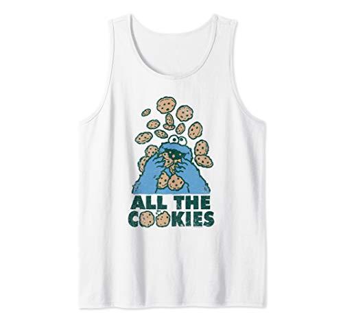 Sesame Street Cookie Monster All the Cookies Tank