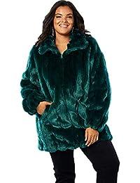 540b0f194da Women s Plus Fur Faux Fur Jackets Coats
