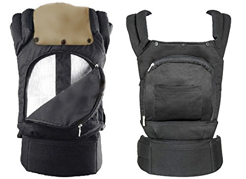 Breezy Mesh Backpack baby carrier front to back infant to toddler breathable w/head - Carrier Baby Sling Reversible