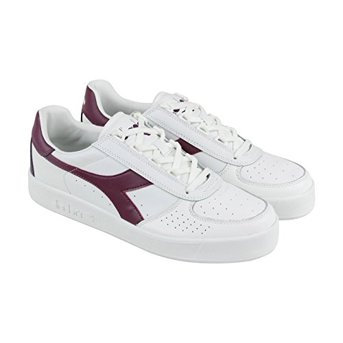 Diadora Männer B. Elite Court Schuh Weiß / Amaranth