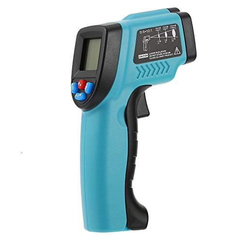 Oyzmax Digital Infrared Thermometer Gun probe thermometer Hand-held Non-Contac -50~550°C Temperature Tester Gun LCD Display with Backlight