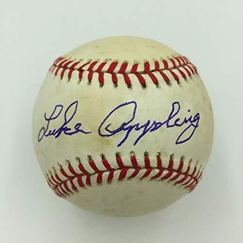 - Luke Appling Signed Official American League Baseball With JSA COA