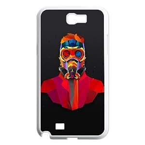 Samsung Galaxy N2 7100 Cell Phone Case White am07 dark man art colorful armor 1 LV7951347