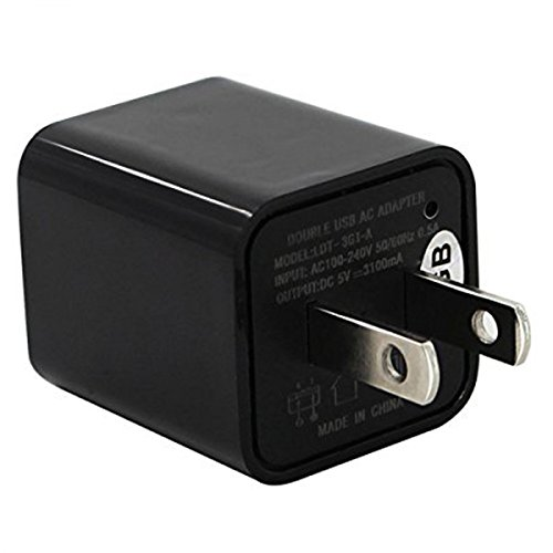 Redlemon Cámara Oculta en Forma de Cargador de Cubo USB, 32GB de Memoria Interna. Cámara Espía en Forma de Cargador de...
