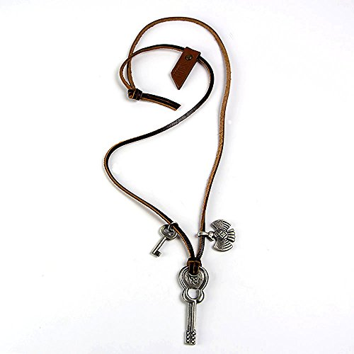 guess-necklace-leather-strap-with-3-metal-pendants-guitar-key-phoenix