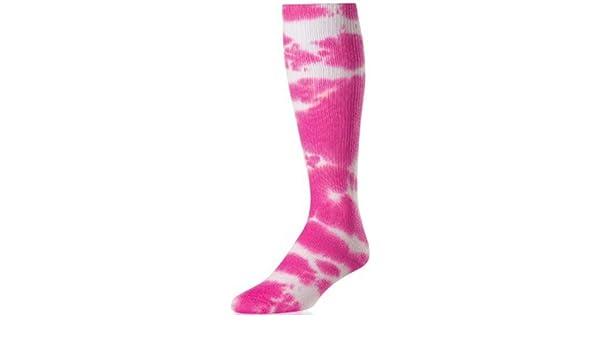 3923b932714 Amazon.com   TIE DYE SOCK HOT PINK (Breast Cancer Awareness) M FUCHSIA    Clothing