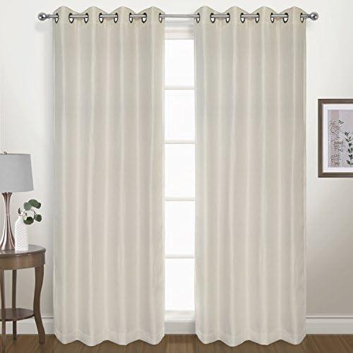 United Curtain Herringbone Blackout Woven Window Panel