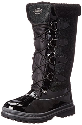 Khombu Women's Farrah-KH Cold Weather Boot Black