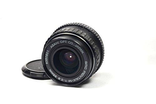 Pentax Asahi 35mm f/2.8 1:2.8 SMC PK-Mount Manual Focus Lens (Mount Pk Pentax)