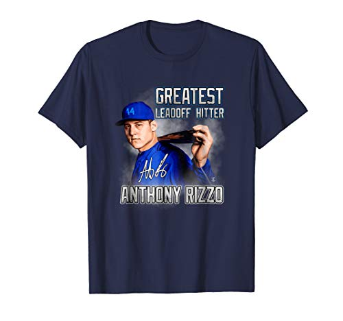 - Anthony Rizzo Greatest Leadoff Hitter T-Shirt - Apparel