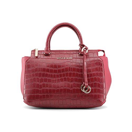 Genuine Versace Rrp Designer Women Handbag Jeans Red I0qpwZ0