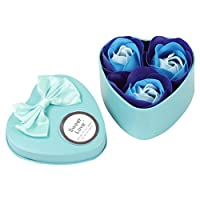 Flower Soap,3Pcs Heart Scented Petal Rose Wedding Decor Valentine