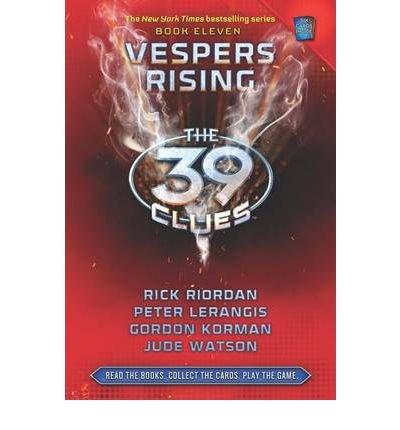 39 clues book vespers rising - 3