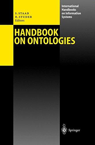 Handbook on Ontologies (International Handbooks on Information Systems)
