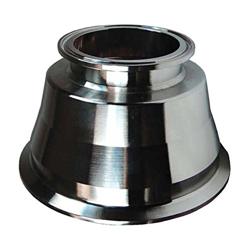 Dixon BSCCQ Replacement Strainer Outlet, 316L Stainless Steel - 1'' Tri-Clamp by Dixon Sanitary