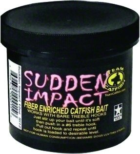 Team Catfish SI12 Sudden Impact Bait Jar, 12-Ounce