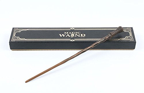 Cultured Customs Magical Wand Replicas - Steel Core Cosplay Prop Collectible + Free Bonus Collectible Trading Card (Ron) -
