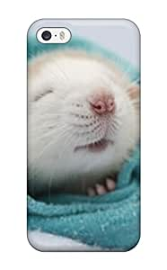 High Quality L Cute Rat Case For Iphone 5/5s / Perfect Case by mcsharks