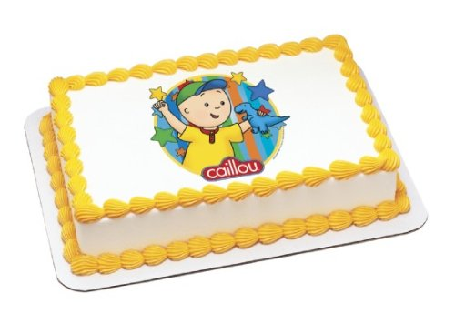 Caillou Edible Cake Topper Decoration, Desertcart