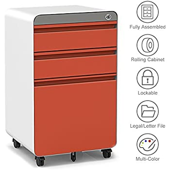 Amazon Com 3 Drawer Filling Cabinet Metal Vertical File