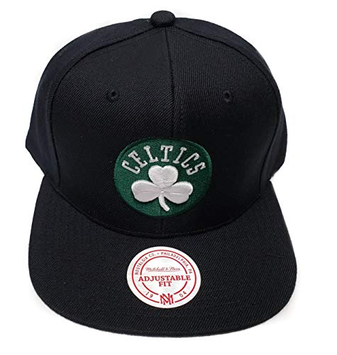 Mitchell & Ness Boston Celtics Current Solid Wool Snapback Hat NBA – Sports Center Store