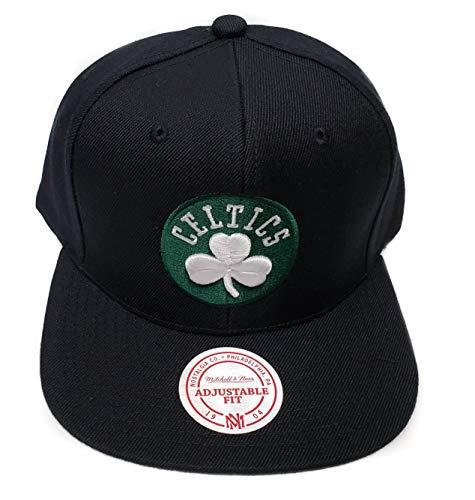 Mitchell & Ness Boston Celtics Current Solid Wool Snapback Hat NBA