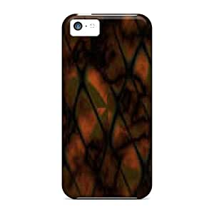Durable Protector Case Cover With Nice Abstract Hot Design For Iphone 5c