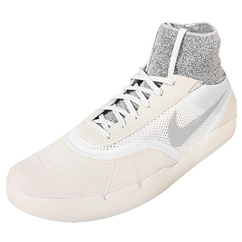 Nike SB Hyperfeel Koston 3, Zapatillas de Skateboarding para Hombre Blanco / Gris (Summit White / Wolf Grey-White)