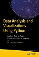 Data Analysis and Visualization Using Python Front Cover