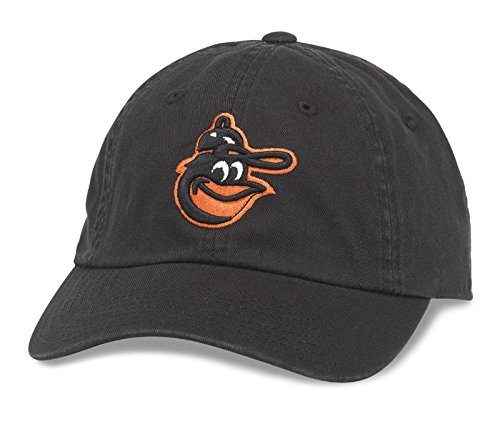 fan products of Baltimore Orioles Washed Cotton Twill Baseball Cap by American Needle